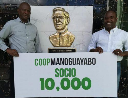 CoopManoguayabo celebra la llegada de su socio 10 mil